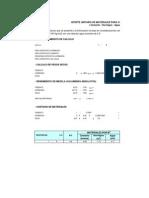 Aporte Unitario de Materiales(1)