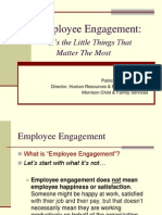 Employee Engagement - Little Things That Make the Biggest Difference-Patricia DiNucci