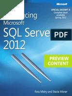 microsoft press ebook introducing sql server 2012 preview ii