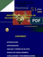 Diseño y Construcción de Pilotes de Gran Diámetro en Lima - CIP