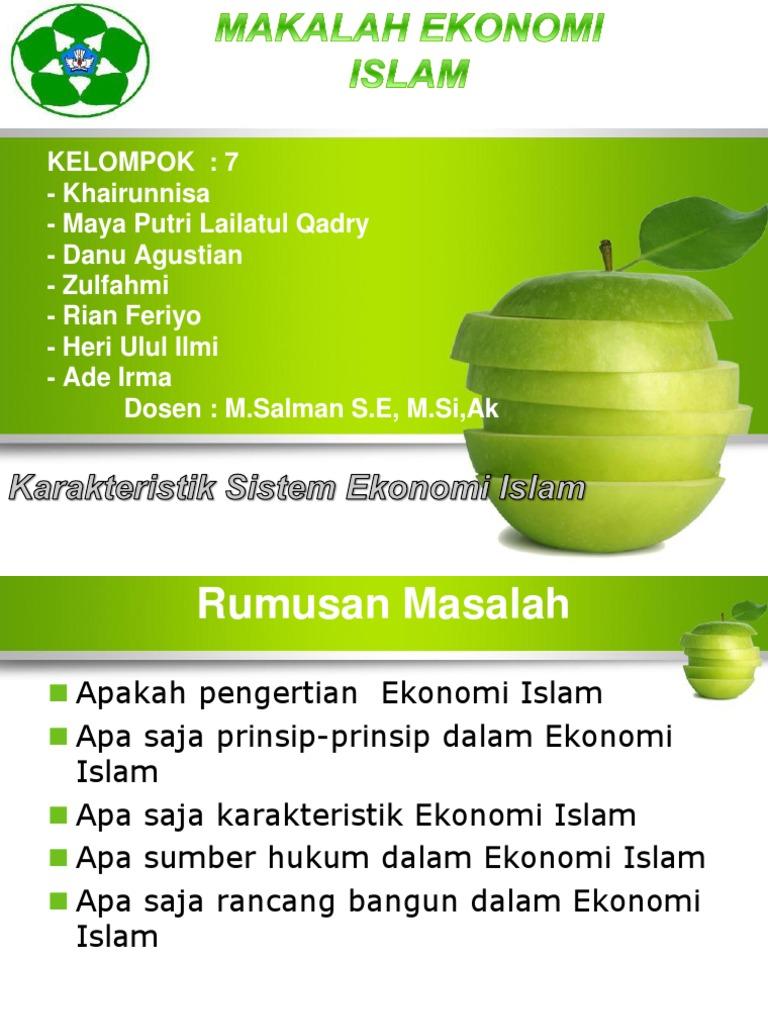 Karakteristik Islam Ppt