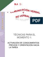 Comunicación verbal y no verbal(1)