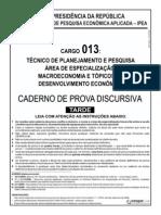 Ipea Cargo 13 Discursiva