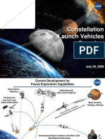 NASA Ares I & V Launch Vehicle - July 2009 Status Report