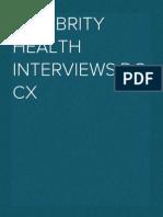 Celebrity Health Interviews