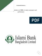 INTERNSHIP PROPOSAL on Green Banking