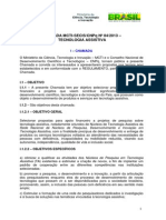 Chamada MCTI-SECIS_CNPq_84_2013 - Versão 16102013