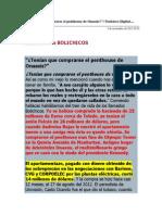 Los Bolichicos. Corrupcion Electrica