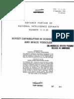 CIA Estimate 1959