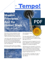 Vision, Mission, Principles, and the Human Brain