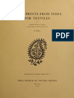Block Prints from India for Textiles