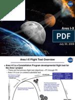 NASA Ares I-X Test Flight - July 2009 Status