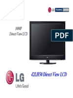 LG 42LH50 LCD (EEFL-Ballast) TV Training Manual