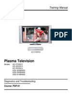 Sony PDP-01 Plasma Training