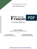 Manuel de Français 4 AM en version numérique