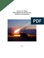 ZSU-23-4V1 Shilka Simulator Manual