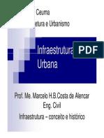 Infraestrutura Urbana_unidade 1_aula 1_conceito e histórico