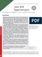 Sleep Apnoea and Systemic Hypertension