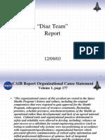 """""""DiazTeam"""" Report"""