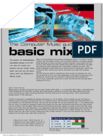 Computer Music Guide to Basic Mixing - Tutorial