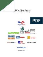 ALEC v. Clean Energy