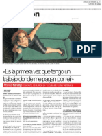 Mónica Naranjo - El Periódico de Extremadura - 03.11.2013