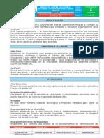 Manual de Recursos, Funciones, Responsabilidad y Autoridad - Mof