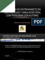 Programa.entrenamiento.emergencias.simulacro.real.Personas.con.Autismo