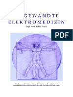 Picard, Robert - Angewandte Elektromedizin. Die Therapie des Dr. Robert Beck