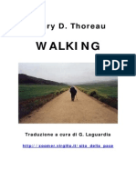 Henry D. Thoreau - Camminare