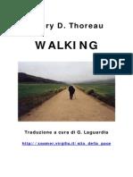 Henry D. Thoreau - Camminare