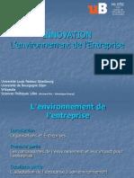 Innovation 3 L Environnement de L-Entreprise
