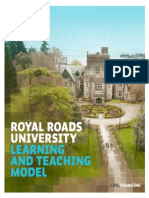 Royal Roads Teaching and Learning model