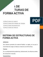 Sistema de Estructuras de Forma Activa