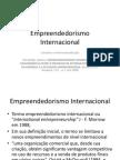 Empreendedorismo Internacional