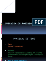 OVERVIEW ON ROBINSON CRUSOE.ppt