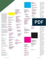 Indici di Progetto Grafico da 1 a 20