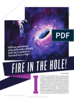 Nature article on black holes