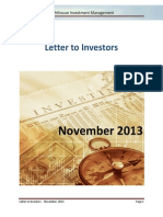Lighthouse - Letter to investors - 2013-11.pdf