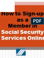 How to Sign as a Member in SSS