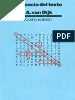 Van Dijk Teun a - La Ciencia Del Texto