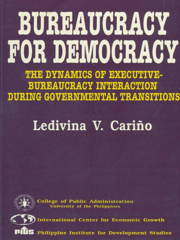 e11ff83058ab1 Bureaucracy for Democracy