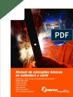Manual de Conceptos Basicos de Soldadura y Corte (Infra)