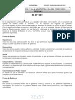 ORGANIZACIÓN POLÍTICA Y ADMINISTRATIVA DEL TERRITORIO PERUANO