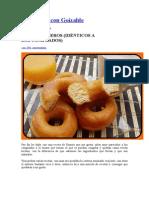 Cocinando Con Goizalde-Donuts Caseros