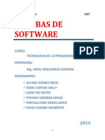 Pruebas de Software (Informe Final)