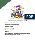 Agenda and Minutes for Coordinators Meeting.doc