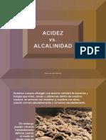 Acidez vs Alcalinidad