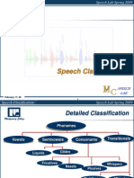 Speech Classification