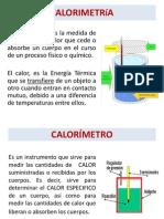 CALORIMETRíA MATERIAL UTP- QI